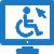 לוגו נגישות אתרים