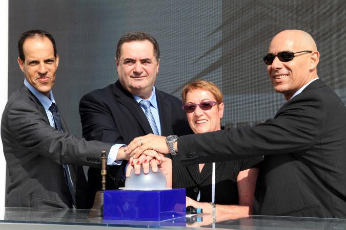 שר התחבורה ישראל כץ, אסתר לבנון מנכלית הבורסה,  אייל רוזנר יור תחליפי דלקים, ממ יור הבורסה, דר רון מלכא